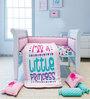 Fancy Fluff Princess 6-Piece Premium Baby Crib Set