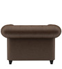 Princeton One Seater Sofa in Chester Brown Colour by ARRA