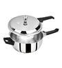 Pristine Silver Stainless Steel 2 L Induction Base Pressure Cooker