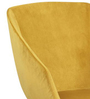 Professional Accent Chair in Yellow Colour by FurnitureTech