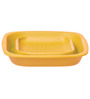 Progressive Yellow Polyproplene Collapsible Square Colander