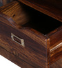 Mabton Entertainment Unit in Provincial Teak Finish by Woodsworth