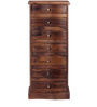 Glendale Sheesham Wood Chest Of Drawers in Provincial Teak Finish by Woodsworth