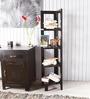 Toledo Solid Wood Display Unit in Espresso Walnut Finish by Woodsworth