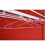 Pull N Dry Pulley Type 4 Lines Pipes Metal 8 Ft Long Clothes Dryer