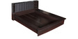 Queen Bed in Wenge Colour by Penache Furnishings