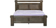 Graciana Queen Size Bed in Wenge Finish by CasaCraft