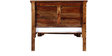 Queensberry Single Size Bed in Provincial Teak Finish by Amberville
