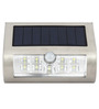 Quace Outdoor Solar Step Lights with Motion Sensor 9 Led Stair Stainless Steel Light