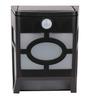 Quace Solar Stylish Black Solar Power Garden Lamp