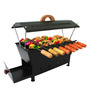 Questioned K27 Barbeque Station With Roof