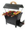 Questioned K28 Barbeque Station With 4 Skewers
