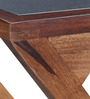 Quito Sheesham Wood End Table in Provincial Teak Finish by Woodsworth