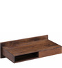 Freemont Solid Wood Wall Mount Study cum Laptop Table in Provincial Teak Finish by Woodsworth