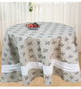R Home Beige Cotton Table Cover ( Model No: RHTL 110R )