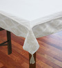 R Home Elegance Beige Cotton Table Cover