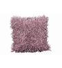 R Home Purple Woven 16 x 16 Inch Shaggy Lilac Cushion Cover