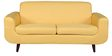 Rafael Three Seater Sofa in Yellow Colour by CasaCraft