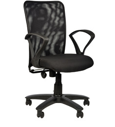 Rado Chair in Black Colour by Chromecraft