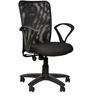 Rado Chair in Black Colour by Chromecraft