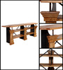 Troyes Console Table in Distress Finish by Bohemiana