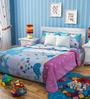 Rago Kids Abstract Double Bedsheet with 2 Pillow Covers