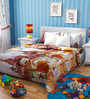 Rago Chhota Bheem Poly Cotton Double Bedsheet with 2 Pillow Covers