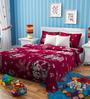 Rago Kids Mickey & Minnie Christmas Single Bedsheet with 1 Pillow Case