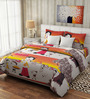 Rago Kids Pop Chota Bheem Bedsheet with 2 Pillow Covers