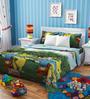 Rago Kids Tiger & Pooh Single Bedsheet with 1 Pillow Case