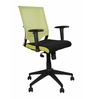 Rainbow Mid Back Office Chair - Series A - Black by BlueBell Ergonomics
