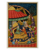 Rajrang Antique Paper 4 x 6 Inch Beautiful Unframed Painting