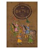Rajrang Paper 9 x 13 Inch Charming Traditional Unframed Painting