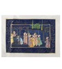 Rajrang Silk 11 x 8 Inch Lovely Traditional Unframed Painting