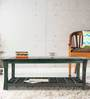 Raliegh Solid Wood Coffee Table in Green Oak Finish by Woodsworth