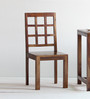 Raliegh Solid Wood Dining Chair in Provincial Teak Finish by Woodsworth