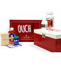 Random in Tandem Metal White 2 L Ouch First Aid Box