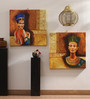 Rang Rage Canvas 16 x 2 x 16 Inch Egyptian Imperials Framed Art Panels - Set of 2