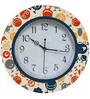Rang Rage Cute Monsters Handpainted Round Clock