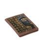 Rangrage Divine Buddha Canvas & Leatherette Multicolour Passport Holder