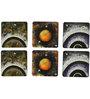 Rang Rage Hand-painted Secrets of Universe Coaster Set