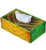 Rang Rage Hand-painted Serene World Tissue Box Holder