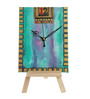 Rang Rage Wooden Splash of Colors Table Clock