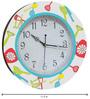 Rang Rage Kitchen Play Handpainted Round Clock