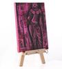 Rang Rage Multicolour Canvas The Ajanta Decorative Key Holder