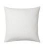Rang Rage Azure Cotton 16 x 16 Inch Hand-Painted Minimalist Cushion Cover