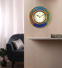 Rang Rage Multicolour MDF 16 Inch Round Tribal Round Wall Clock
