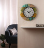 Rang Rage Multicolour MDF 16 Inch Classic Aztec Hand Painted Round Wall Clock