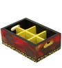 Rang Rage Scarlet Magic Mango Wood Tray with Shot Glasses