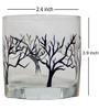 Rang Rage Tree of Life Handpainted Whisky Glasses - Set of 6
